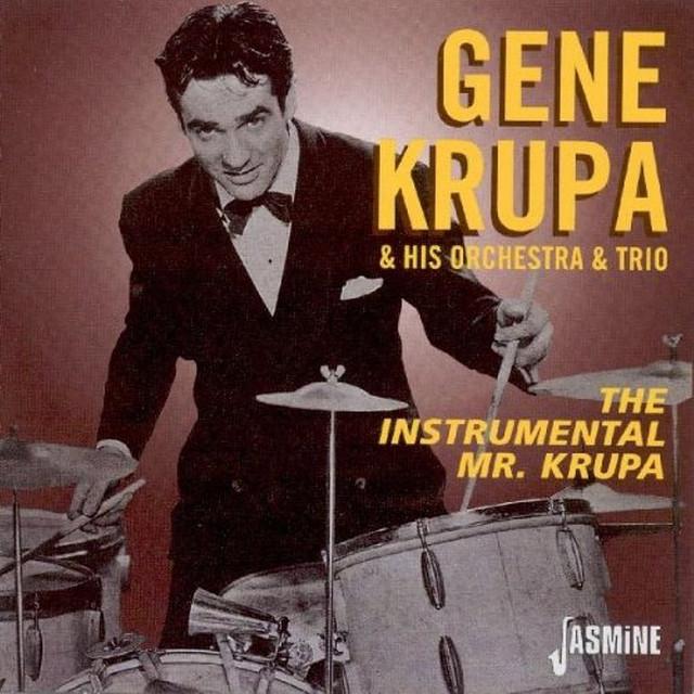 Artist Gene Krupa Trio Cover