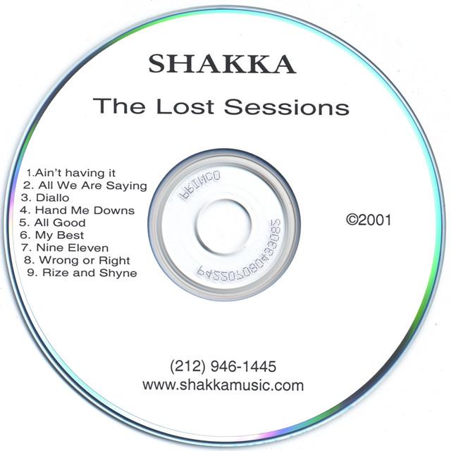Artist Shakka Cover